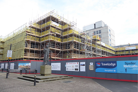 Commercial Malvern Scaffolding
