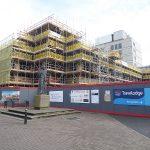 Malvern Scaffolding - Cathedral Square Plaza